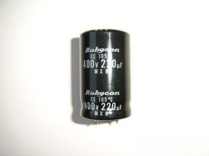220 uF / 400V